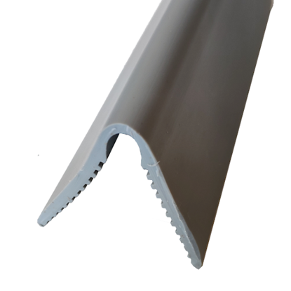 Picture of Grey soft PVC corner guard 70x70mm