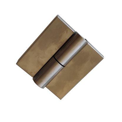 Nerūdijančio plieno dešininis šarnyras WC durims